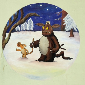 The Gruffalo's Child Mural is finally finished.
